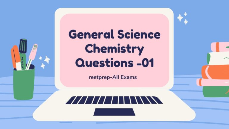 General Science Chemistry Questions