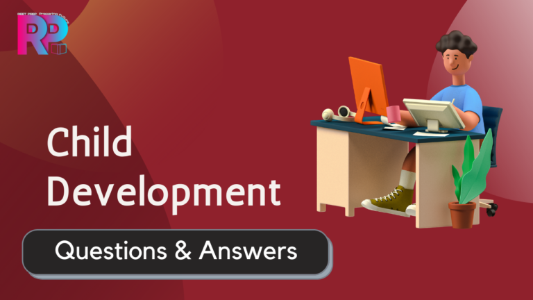 Child development questions answers